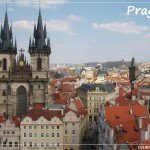 Prague Old Town Square from Above