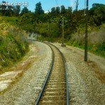 Train Tracks from Wellington to Auckland