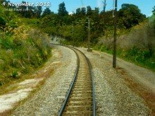 Wellington to Auckland train tracks