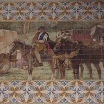 Tiles of São Bento Station in Porto