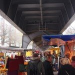 Isemarkt - Market under the Tracks
