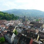 Climbing Freiburg Cathedral : Freiburg from Above