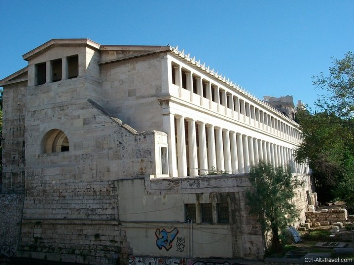 Stoa of Attalos in the Athens Agora