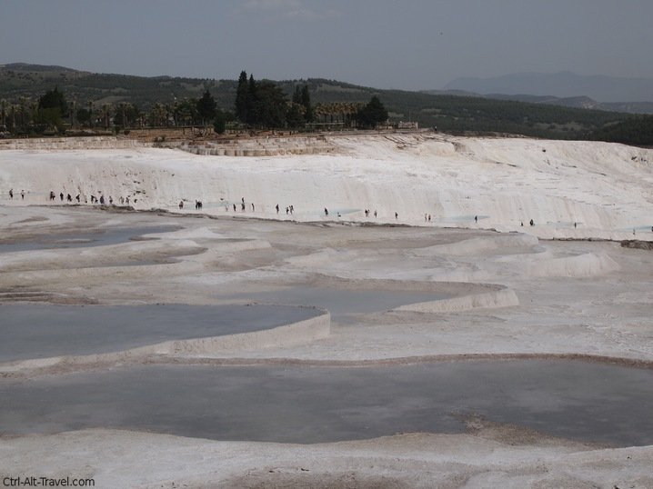 Walking the Travertines at Pamukkale