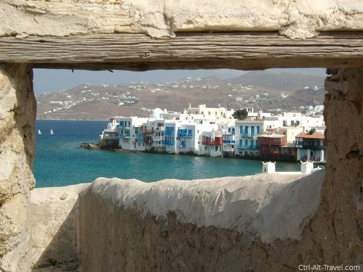 Eccentric views of Mykonos