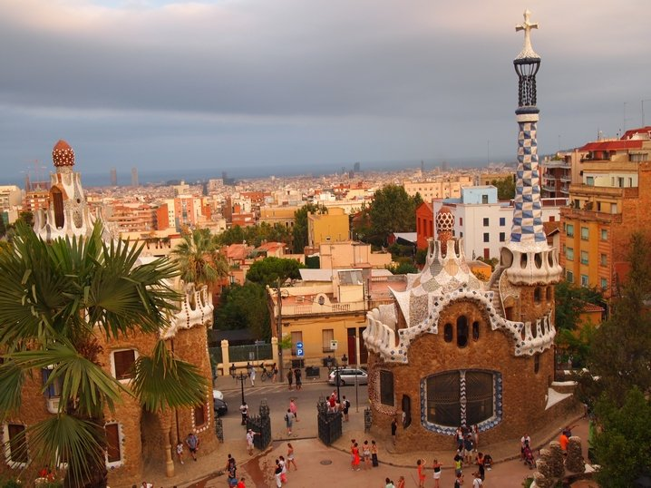 Park Güell – Details and Views