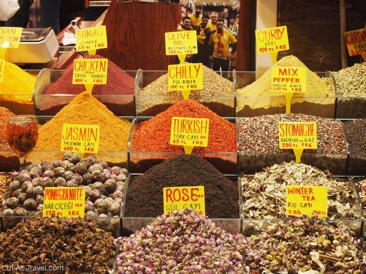 In the Spice Market – Aromatic Chaos