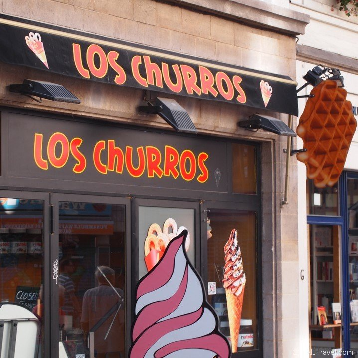 Churros in the land of Waffles