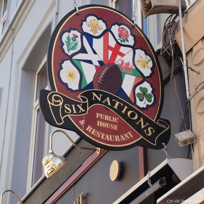 Six Nations Rugby Pub in Brussels