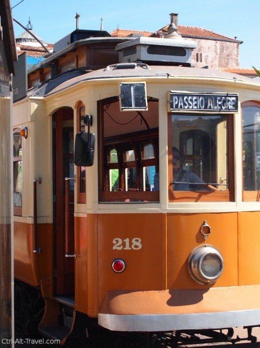 Porto Tram line one