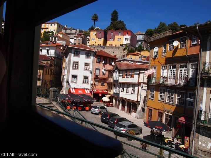 Riding Tram 1 in Porto