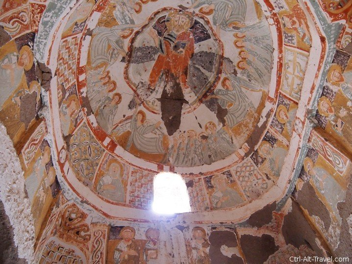 Agacaltı Church Fresco
