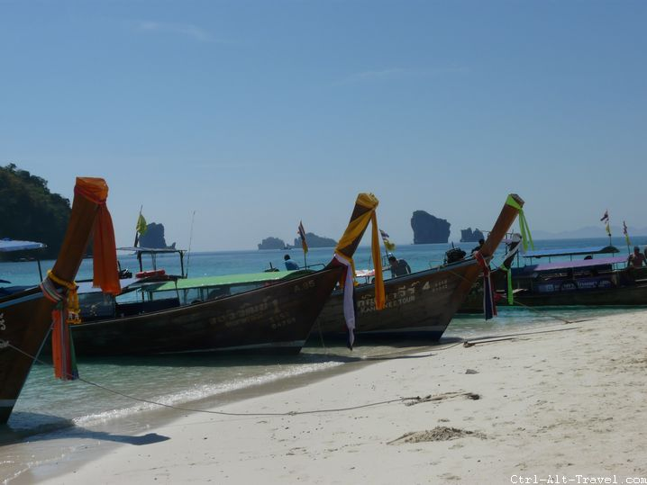 Thai Longtail Boats
